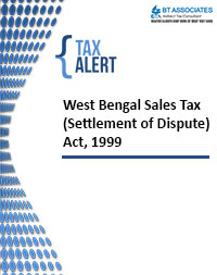 West Bengal Sales Tax (Settlement of Dispute) Act 1999