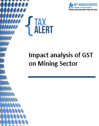 Impact analysis of GST on Mining Sector