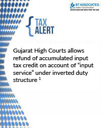 Gujarat High Courts allows refund of accumulated input tax credit on account of