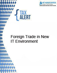 Foreign Trade in New IT Environment