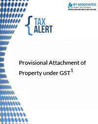 Provisional Attachment of Property under GST