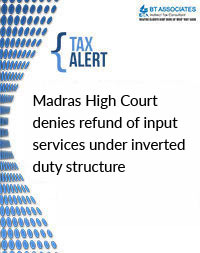 Madras High Court denies refund of input services under inverted duty structure