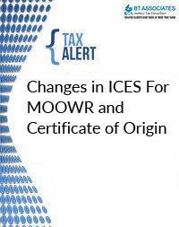 Changes in ICES For MOOWR and Certificate of Origin