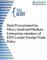 Steel Procurement by Micro, Small and Medium Enterprises members of EEPC) under Foreign Trade Policy