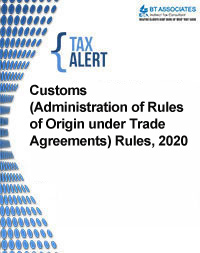Customs (Administration of Rules of Origin under Trade Agreements) Rules, 2020